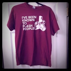 I've Been Known To Flash People Adult Humor Tshirt